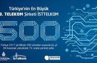 BİLİŞİM 500'DE İSTTELKOM'DAN ÖNEMLİ BAŞARI