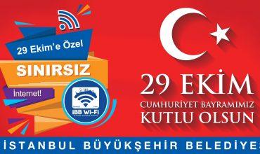 CUMHURİYET BAYRAMI'NDA SINIRSIZ İNTERNET