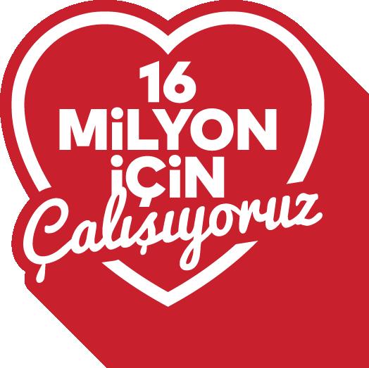 16 Milyon