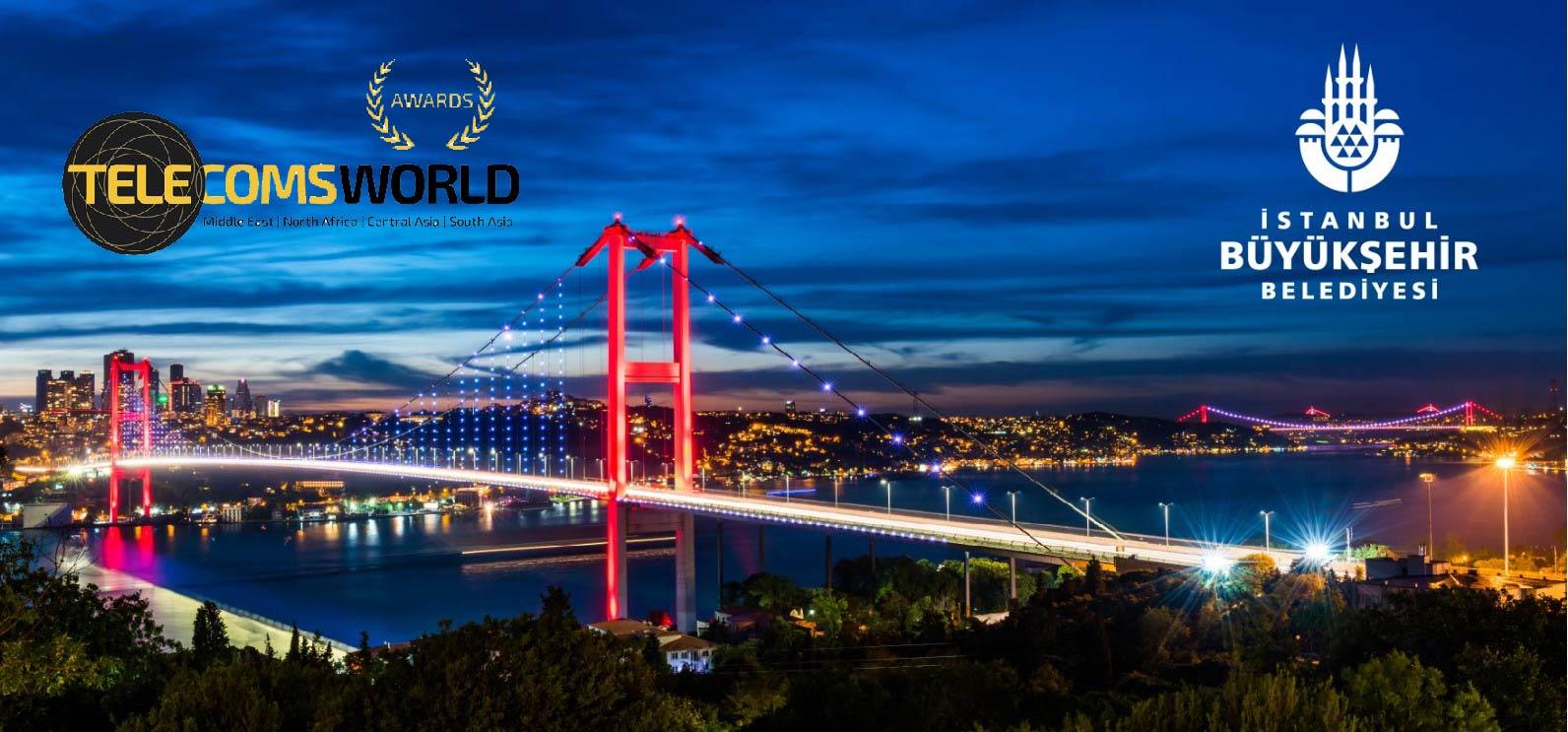 TELECOMS WORLD AWARDS'TAN İBB WİFİ HİZMETİNE ÖDÜL